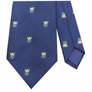 RAF Royal Air Force Coastal Command Regimental Cap Motif Tie